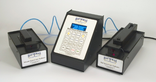 Dual channel for mouse and rat blood pressure measurements